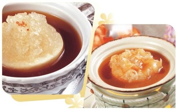 红烧官燕&泰式煲仔翅
