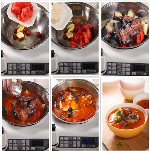 捷赛自动烹饪锅菜谱—酸汤鱼2