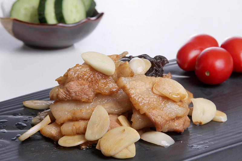 捷赛自动烹饪锅-蒜爆肉
