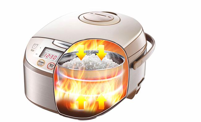 美的电饭煲-三维立体循环加热