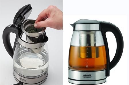 aroma热水壶泡茶杯