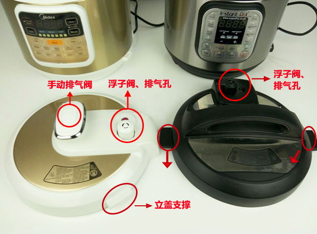美的MY-CS6002W和Instant Pot IP-DUO60对比图1