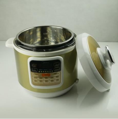 美的电压力锅MY-CS6002W制作啤酒鸭