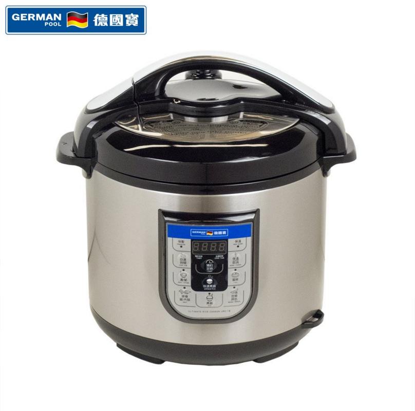 German Pool® URC-16 6 Litre Ultimate Rice Cooker