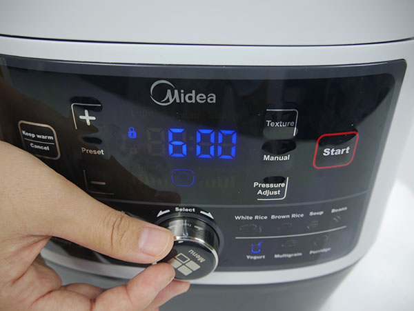 Midea MY-SS6062 Power 8-in-1 Multi-Functional Programmable Pressure Cooker
