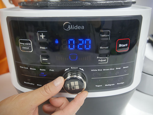 Midea MY-SS6062Multi-Functional Programmable Pressure Cooker