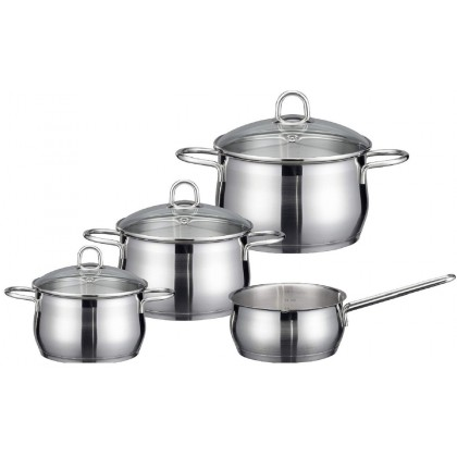 ELO Platin Postset Set 7 Pieces Stainless Steel 90604