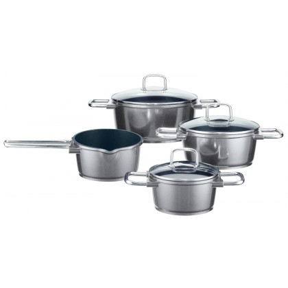 ELO Pure Solution Scratch Resistant Stainless Steel Cookware Set 7 pieces 77704