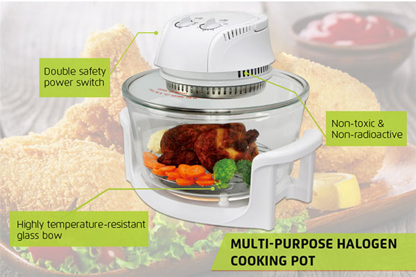 Goldlabo CG03A High Quality Portable Cooking Pot+Stand 1300W Electric Oven