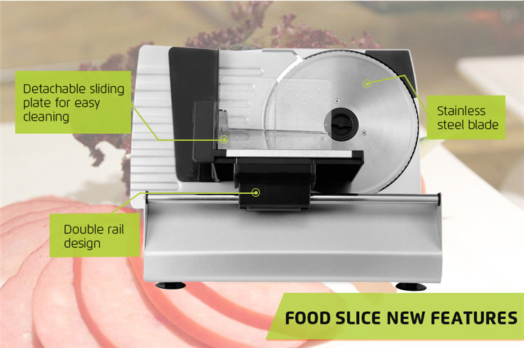 Goldlabo MS100C Fast and Sharp Detachable Sharp Blade Versatile Metal Food Slicer