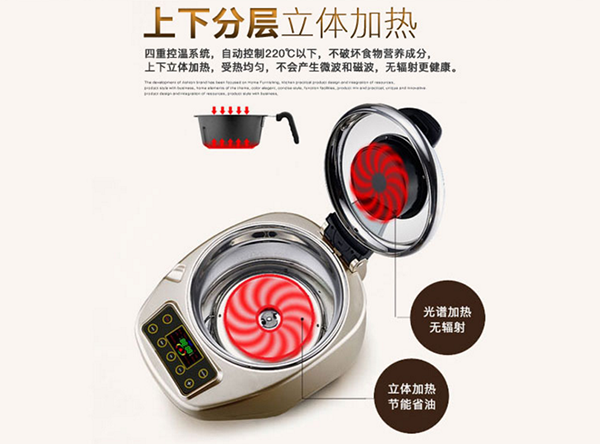 The Intelligent Robot Cooker Robot3