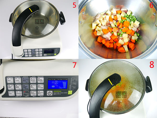 GEMSide Automatic Meal Cooker E151-1