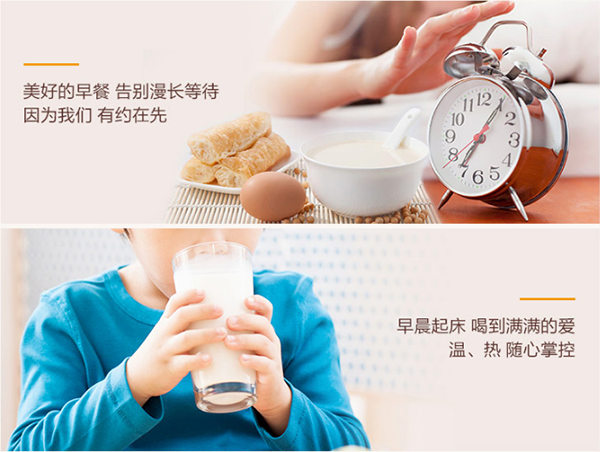 2017 NEW Joyoung Soymilk Maker with timer function DJ13M-D988SG
