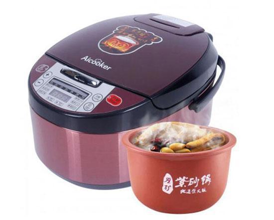 美国 Aicooker 紫砂锅