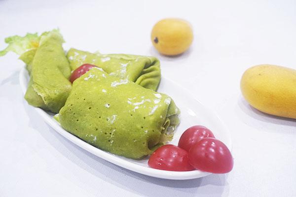千层蛋糕&班戟