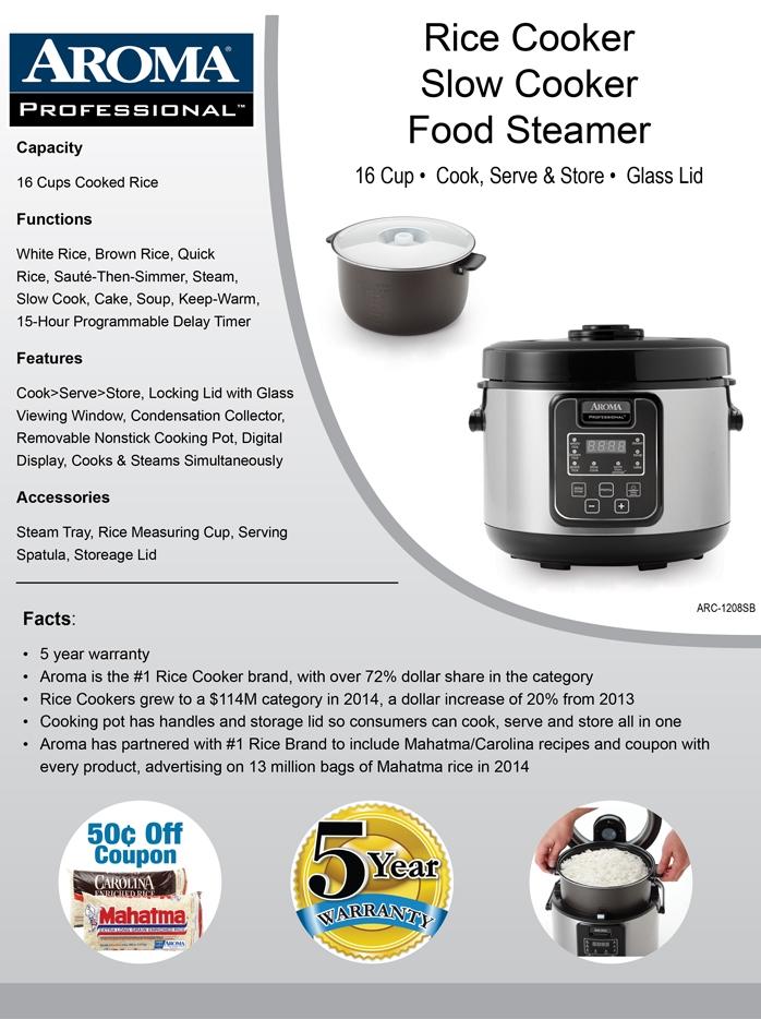 Aroma家用电饭煲ARC-1308SB