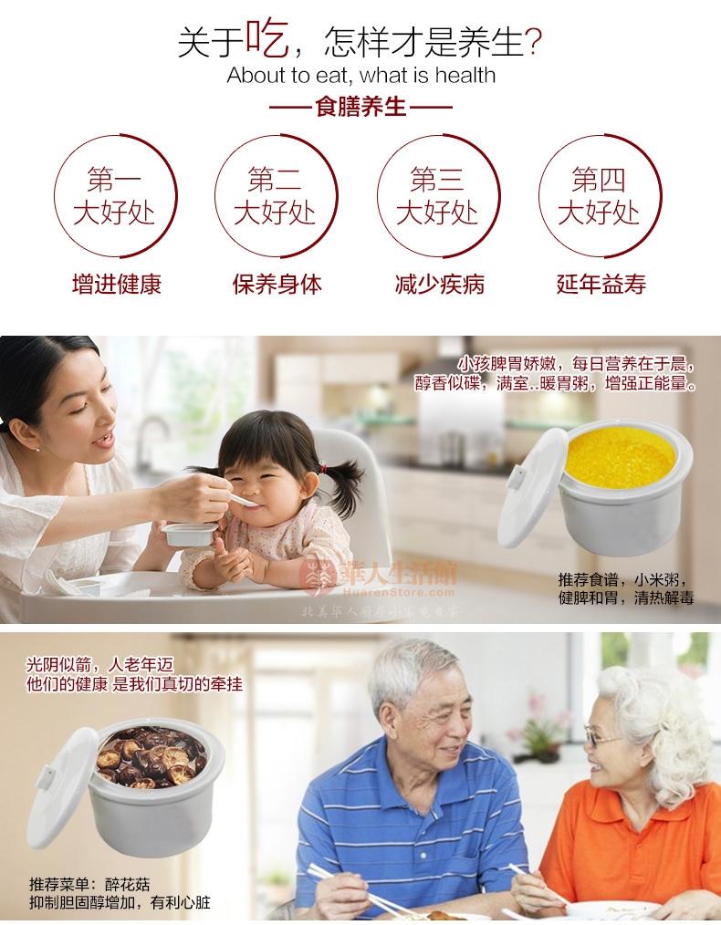 Makoto电炖盅DGD32-32BG膳食养生