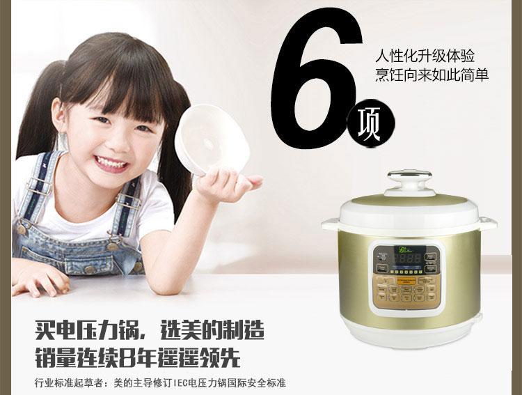 (Gourmet)智能电压力锅BT100-6L